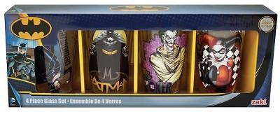 DC Comics Multicolored DC Comics 4pk Pint Set - Beverate