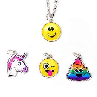 Girls' EmojiNation Changeable Charm Necklace Set