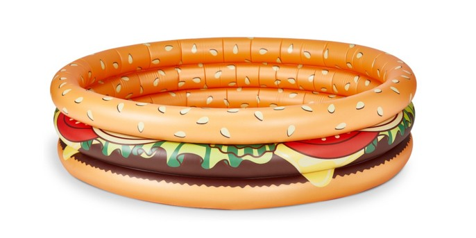BigMouth Toys Kiddie Pool - Hamburger