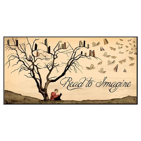Art.com Read to Imagine by Jeanne Stevenson - Mounted Print - image 1 of 3