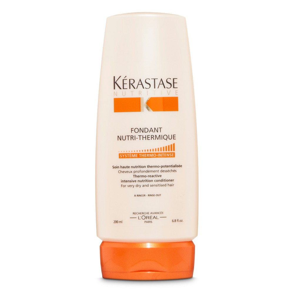 Kérastase Nutritive Fondant Nutri-Thermique Intensive Nutrition Conditioner - 6.8 oz Find Shampoos, Conditioners, and Hair Treatments at Target.com! • Deep conditioner for dry hair • Detangles and moisturizes hair • Adds softness and shine • Protects hair with thermo-reactive elements Kérastase Nutritive Fondant Nutri-Thermique Intensive Nutrition Conditioner repairs dry, damaged hair with intensive moisturizing agents. This thermo-reactive Kérastase conditioner also protects hair from heat styling. Gender: Female.