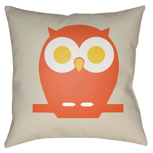 Throw Pillows Target : Owl Throw Pillow - Surya : Target