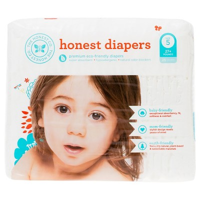 Honest Company Diapers White - Size 5 (25 ct)