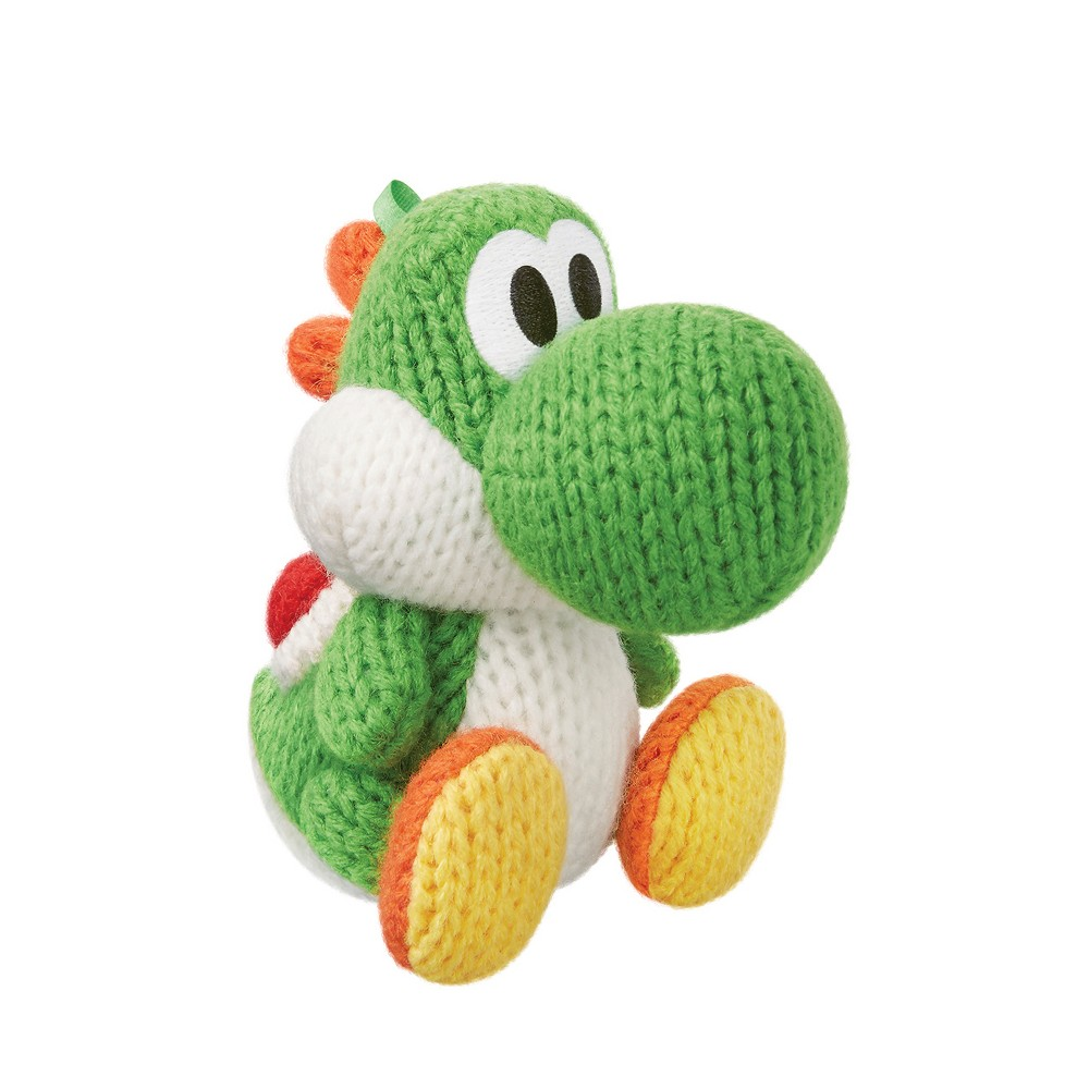 Nintendo Green Yarn Yoshi amiibo Figure for Yoshi's Wooll...