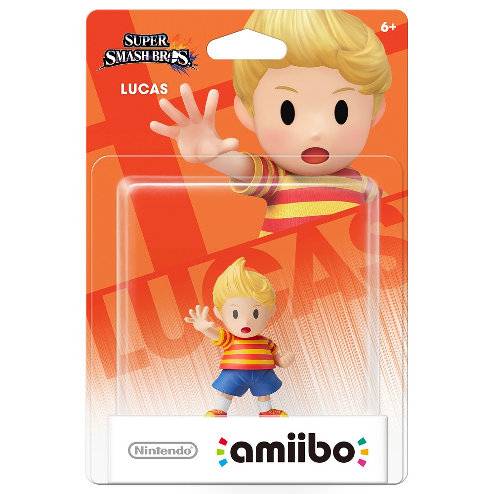 Nintendo Lucas amiibo Figure, Multi-Colored