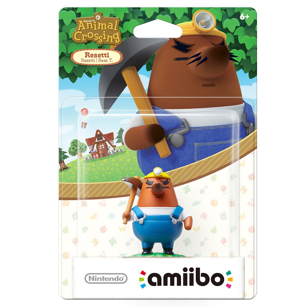 Nintendo Mr. Resetti amiibo Figure, Multi-Colored