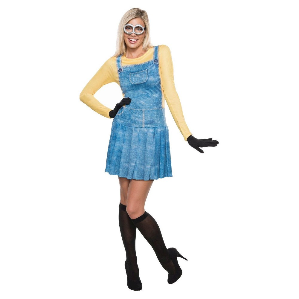Womens Minions Female Minion Costume (XS), Yellow
