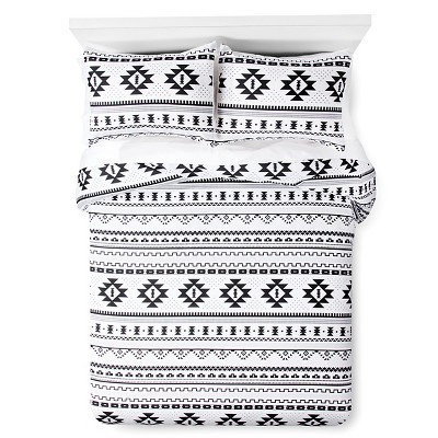 Black & White Printed Comforter (Full/Queen)- Xhilaration™