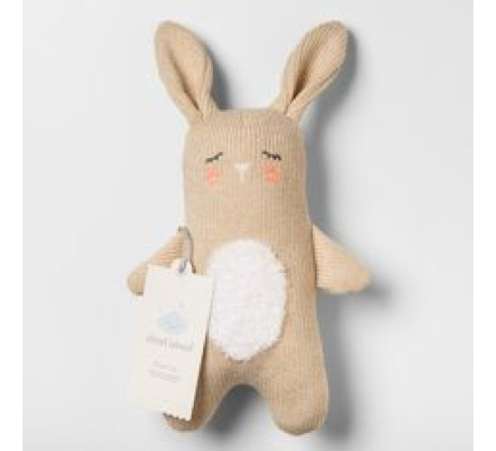 Plush Knit Bunny - Cloud Island™ Tan