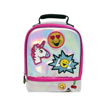 EmojiNation Iridescent Everything Lunch Tote