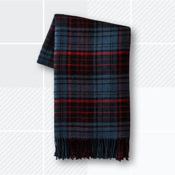 Throw Blanket - Blue/Red Plaid - Hearth & Hand™ with Magnolia