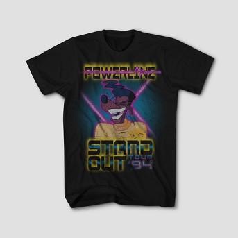 Men's Mickey® Powerline Concert Graphic T-Shirt - Black