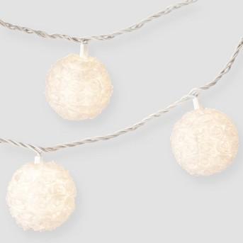 Rosette Globe String Light - Room Essentials™
