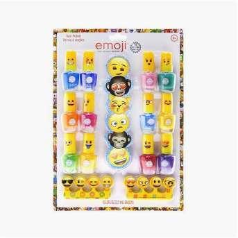 Emoji Nail Polish Set - 12pk
