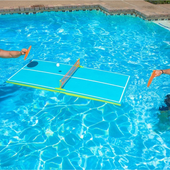 Poolmaster Floating Table Tennis Game