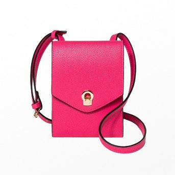 Women's String Wallet - A New Day™ Pink Punch