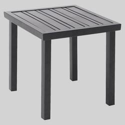 Ft. Walton Steel Slat Square Patio Side Table - Project 62™
