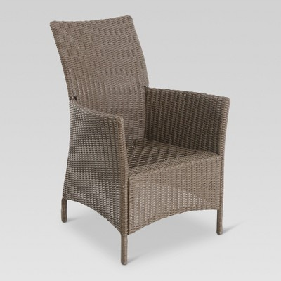 Heatherstone 6pk Wicker Patio Dining Chair - Frame Only - Threshold™