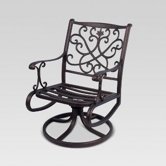 Folwell 2 pk Aluminum Patio Dining Chair   Frame Only   Threshold Patio Dining Chairs   Target. Outdoor Dining Chairs Only. Home Design Ideas