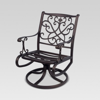 Folwell 2 Pk Aluminum Patio Dining Chair   Frame Only   Threshold™