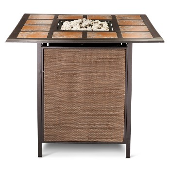 Mirmar Bar Height Dining Fire Table