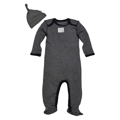 Burt's Bees Baby Newborn Boys' Coverall - Blueberry 6-9M
