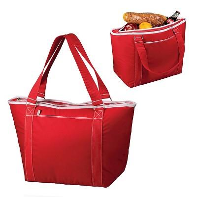 Topanga Cooler Tote - Red
