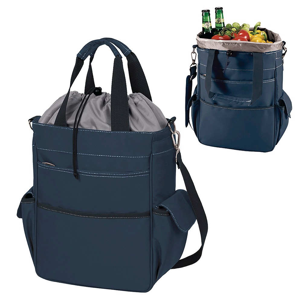Picnic Time Activo Cooler Tote - Navy (Blue)