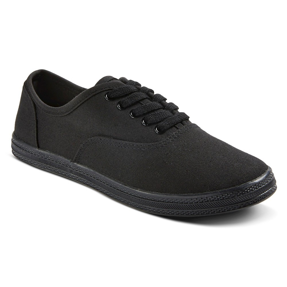 Womens Lunea Canvas Sneakers - Mossimo Supply Co. Black 9
