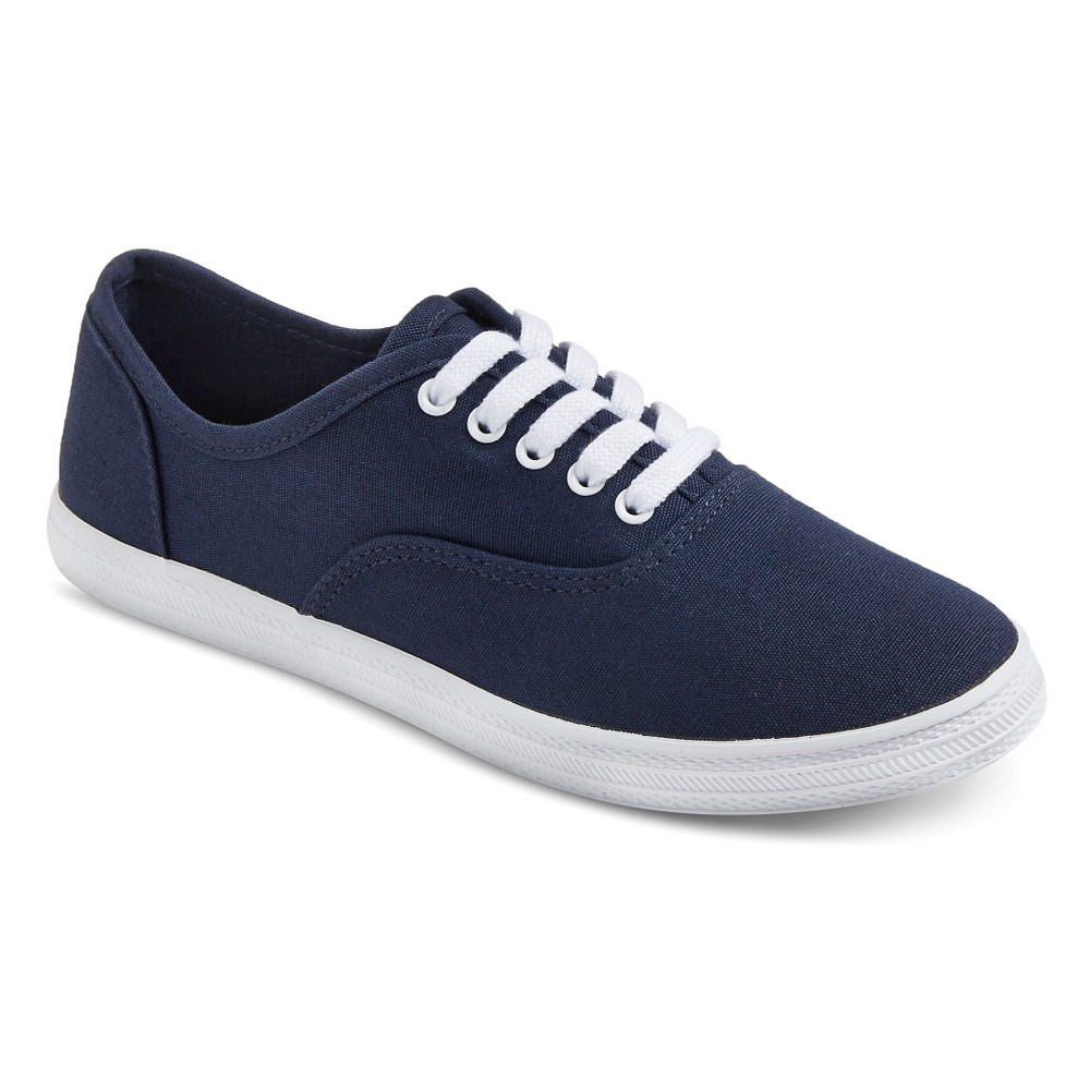 Womens Lunea Canvas Sneakers - Mossimo Supply Co. Navy (Blue) 11
