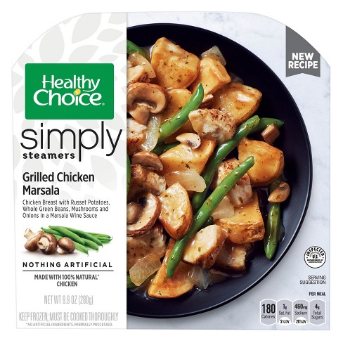 Healthy Choice Café Steamers Grilled Frozen Chicken Marsala with Mushrooms - 9.9oz - image 1 of 1