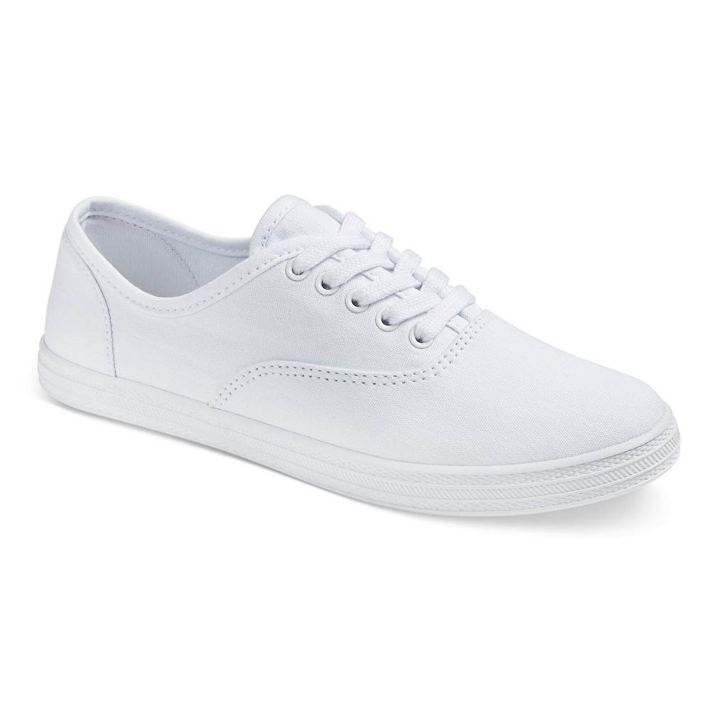 Womens Lunea Canvas Sneakers - Mossimo Supply Co. White 7