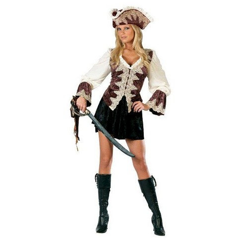 Women's Royal Pirate Costume - image 1 of 1