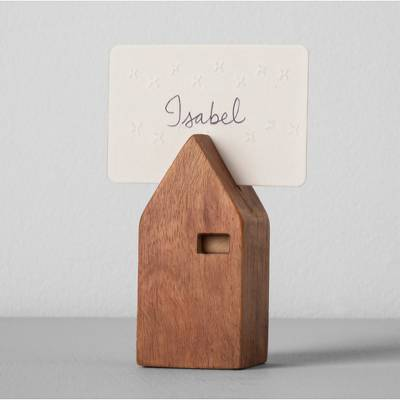 House Place Card Holder - Antique Wood - Hearth & Hand™ with Magnolia