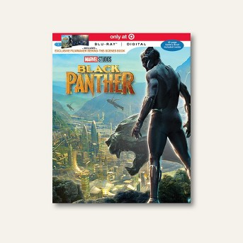 Marvel's Black Panther Target Exclusive (Blu-ray + Digital)