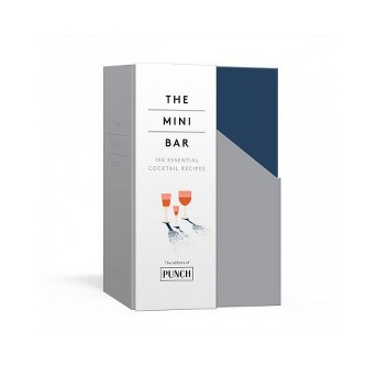 Mini Bar : 100 Essential Cocktail Recipes; 8 Notebook Set -  by Brad Thomas Parsons (Paperback)