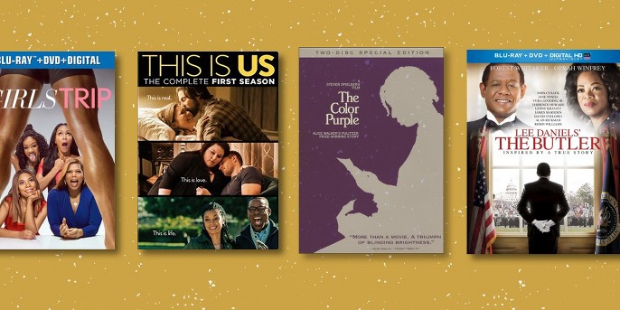 Girl's Trip (Blu-ray + DVD), This Is Us (DVD), Color purple (DVD), Lee Daniels The Butler (Bd/Dvd Combo) (Blu-ray)