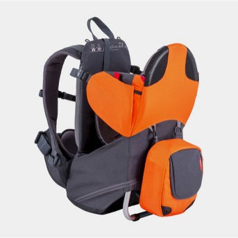phil&teds® Parade Backpack Carrier - Orange/Gray