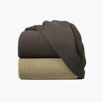 Sweater Knit Blanket - Threshold™