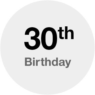 30th Birthday Target