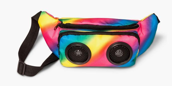 Pride Rainbow Speaker Fanny Pack