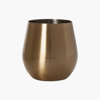 Stainless Steel Wine Glass 18oz Gold - Threshold™