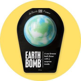 Da Bomb Bath Fizzers™ Earth Bomb™ Bath Soak