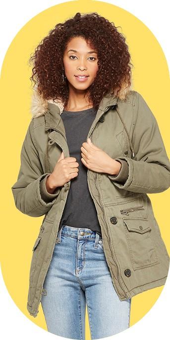 Women's Hooded Parka - Universal Thread™