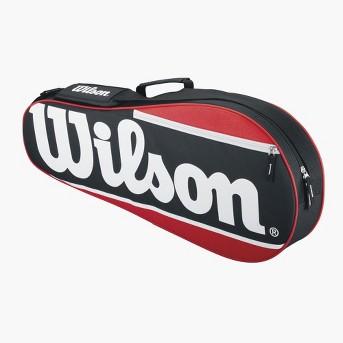 Wilson 2 Racket Tennis Bag - Red/Black