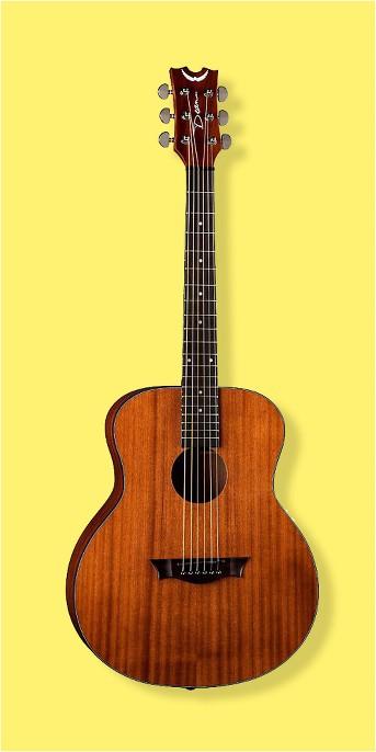Dean AXS Mini Acoustic Guitar Mahogany