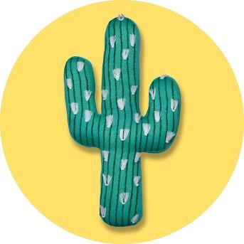 Cactus Throw Pillow (20