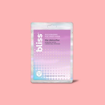 Bliss The Detoxifier Holographic Foil Face Mask Sheet - .8oz