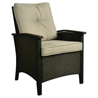 Campbell 2pk Wicker Dining Chairs