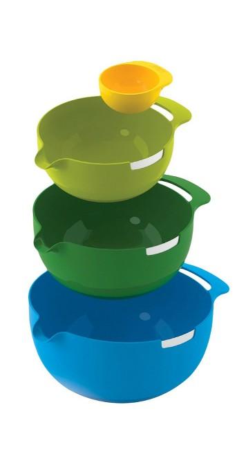 Joseph Joseph® Nest™ Mix 4 Piece Mixing Bowl Set with Egg Yolk Separator